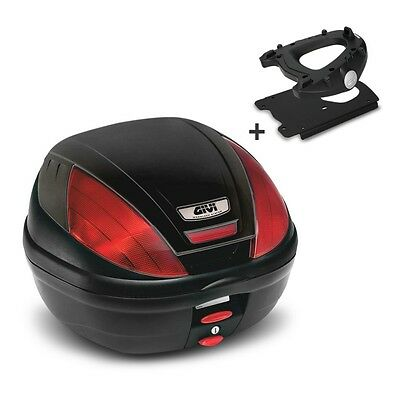 Top Case Set Givi Triumph Bonneville T120 2016 Monolock E370N 39 l black