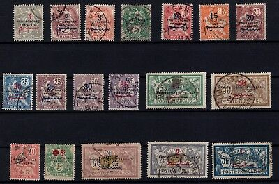 P43364/ Maroc Français / French Morocco / Lot 1914 - 1917 Obl / Used 136 €