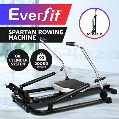 Everfit Rowing Exercise Machine Rower Resistance Fitness Gym Hydralic Abdominal