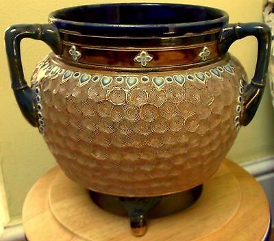 Antique Doulton Lambeth Caldron Vase C.1897