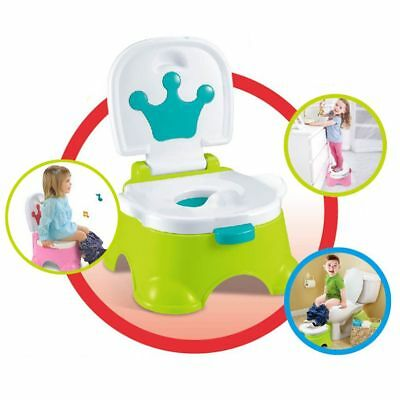 Baby Toilet Trainer Music 3 in 1 Potty System Toddler Toilet Training Seat Fast