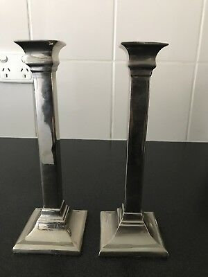 Vintage And Tall Fabulous Candlesticks