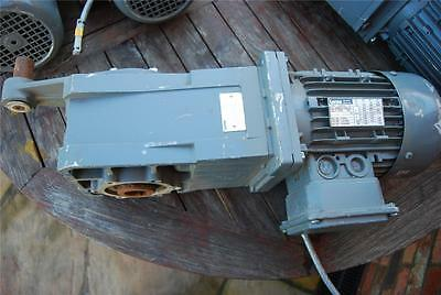 Lenze Motor And Gearbox En60034 / Mdema1M080-42 Gkr05-2M Har Sap 787192 Bd78