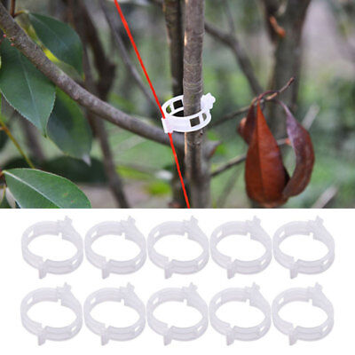 50Trellis Tomato Clips - Supports/Connects Plants/Vines Trellis/Twine/Cages.