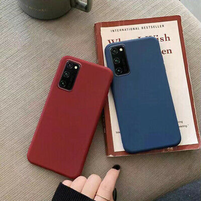 For Samsung Galaxy A7 2018 S9 Note 9 Slim Soft Case Thin Shockproof Phone Cover