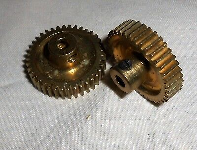 "MECCANO PARTS No.31 GEAR WHEELS 1"" x 2pcs"
