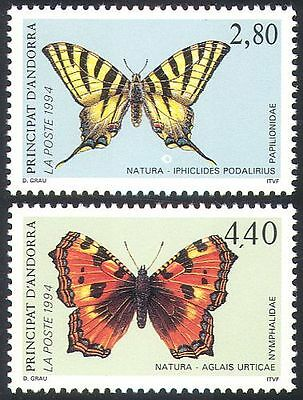 Andorra 1994 Butterflies/Insects/Nature/Conservation/Butterfly 2v set (b8905)