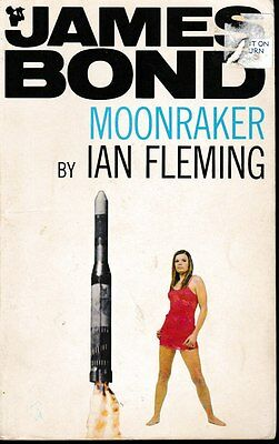 James Bond MOONRAKER Ian Fleming (Paperback, 1969)