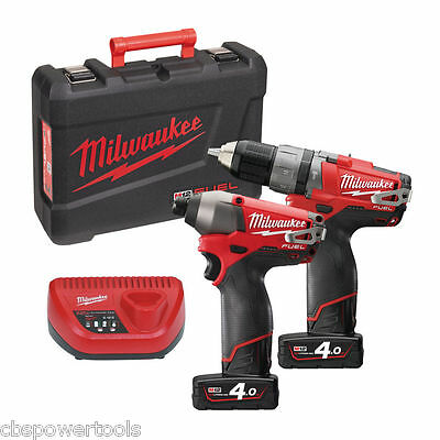 Milwaukee M12PP2A-402C M12 Fuel Twin Pack (M12CPD, M12CID)