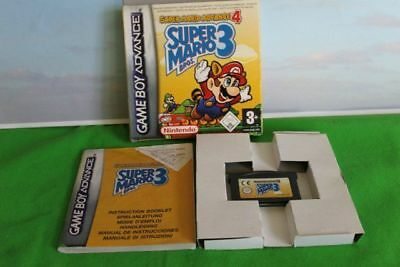 Game Boy Advance Super Mario 3 Nintendo Boxed With Instructions