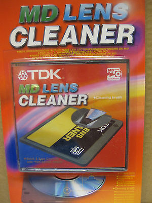 Tdk Md Lens Cleaner Mini Cd Dvd Cleaning Brush Disc Discs Sound Check Cheap New