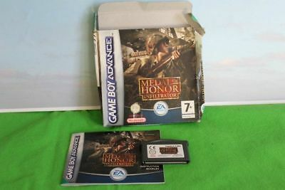 Game Boy Advance Medal Of Honour  Nintendo Boxed  Instruction And Cartridge