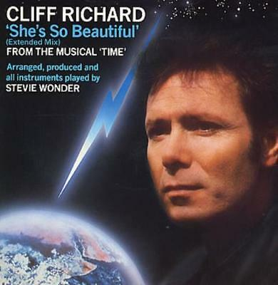 "Cliff Richard She's So Beautiful UK 12"" vinyl single record (Maxi) 12EMI5531"