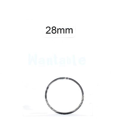 28mm Rubber Drive Belt Replacement Part for Cassette Tape / CD ROM DVD