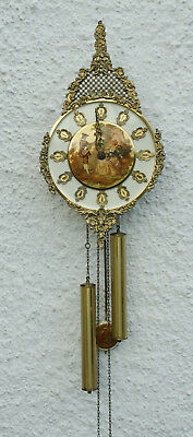 Ornate E.SCHMECKENBECHER (W.Germany) Chiming Wall Clock