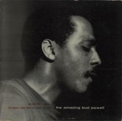Bud Powell The Amazing Bud Powell Volume 1 - NY USA vinyl LP album record