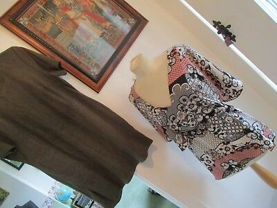 Bundle Of 5 Items Of Ladies Clothes, Size 16/18, Tops/dress/shrug, Exc-Con