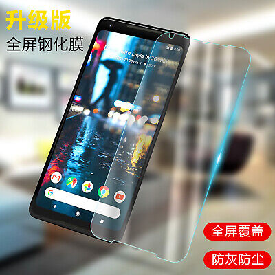 2x 9H Premium Tempered Glass Screen Protector Film For Google Pixel 2 / 2 XL