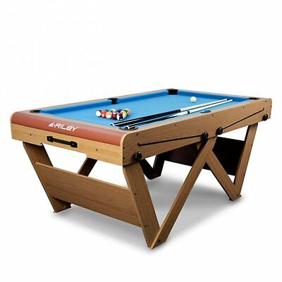 BCE Riley 6FT Deluxe Pool And Table Tennis Table Folding Leg Assembled Games