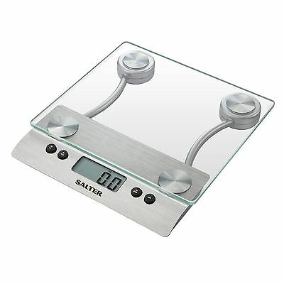 Salter 3003 SSSVDR08 Aquatronic Glass Electronic LCD Display Kitchen Scale New