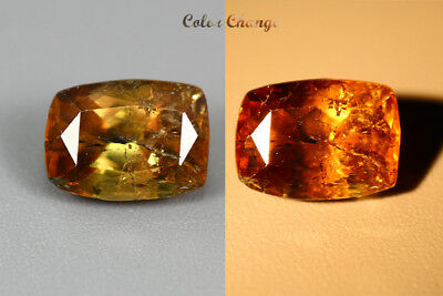 1.525 Ct  Earth Mined Unique Dazzling 100% Natural Dancing' Color Change Axinite