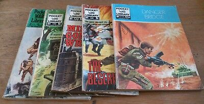 5 Pocket War Library Comics