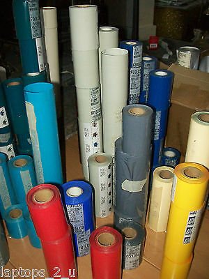 Hot Foil Rolls - Stamping Blocking Foil All Colours / Sizes Blue Brown Cream Red