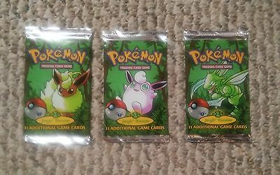 Pokemon 1st edition Jungle Booster Pack- Brand New Factory Sealed!!..One Pack