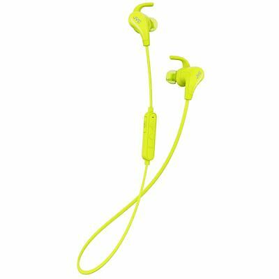 JVC AE Yellow Wireless Bluetooth Sports Headphones With Pivot Motion Fit New