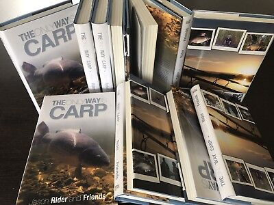 The Only Way Is Carp - 1st Edition Hardback Carp Fishing Book Black Friday 30%