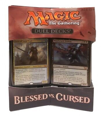 Blessed vs. Cursed Magic the Gathering Duel Decks englisch MtG Magic Karten