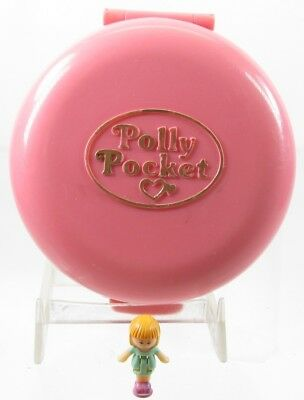 1989 Vintage Polly Pocket Button's Animal Hospital Compact Only Plus 1 Free Doll