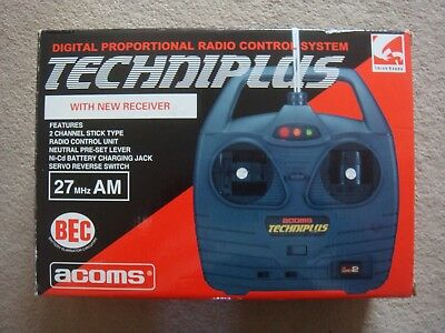 Acoms Techniplus AP-202 Controller / Receiver / 27MHZ / 2-Channel