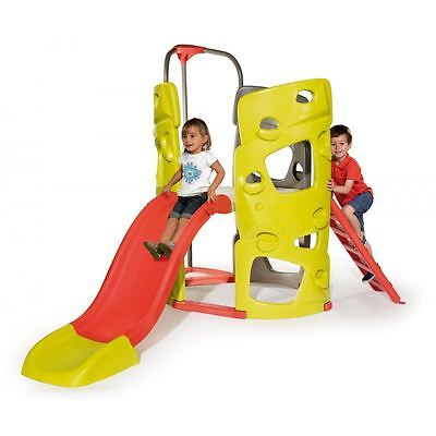 Smoby Children Kids Outdoor Multi-Activity Plastic Climbing Play Tower Frame New