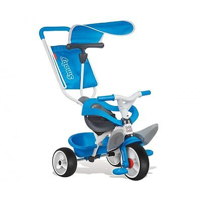 Smoby Baby Toddler Well Designed Balade Ride On Trike Tricycle - Blue New