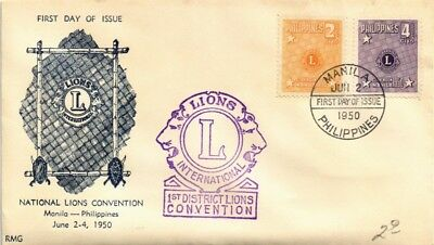 Dr Jim Stamps Lions Club National Convention First Day Issue Philippines Cover
