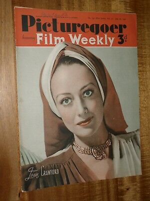 Picturegoer July  26th 1940  Joan Crawford  Cover
