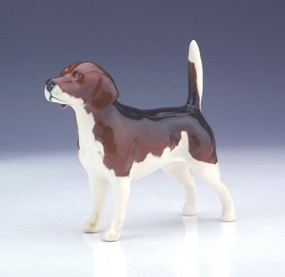 Beswick Pottery - Hand Painted Beagle Dog Figure - Nice!