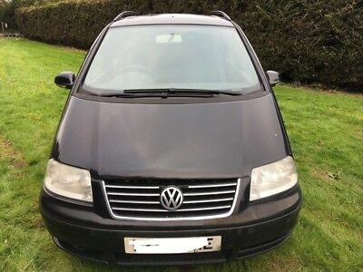 2007 Volkswagen Sharan S 5Dr Large Mpv 5 Speed Auto Diesel