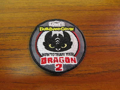Lowe's Build and Grow Iron On Patch - How To Train Your Dragon 2 Patch - Lowes