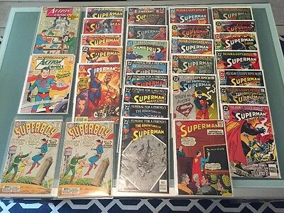 Superman Lot Superboy Action Comics Dc Reign Funeral 310 325 100 Look app comic