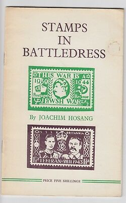 STAMPS IN BATTLEDRESS by JOACHIM HOSANG - PROPAGANDA FORGERIES Booklet