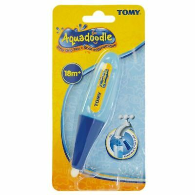 Tomy 72391 Blue/Pink Easy Grip AQUADOODLE Pens For Little Hands New