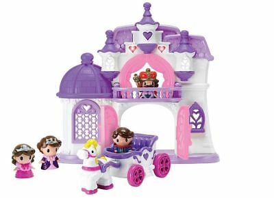 NEW Princess Gala Castle Playset with King, Queen, Princess & Prince Figures