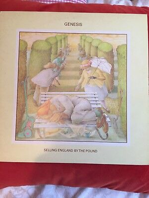 Genesis - Selling England By The Pound - 1973 Excellent Copy + Song Sheet