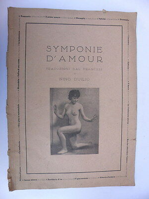 SYMPONIE D'AMOUR Nino Duilio sexy erotica PIN UP pinup lady nude
