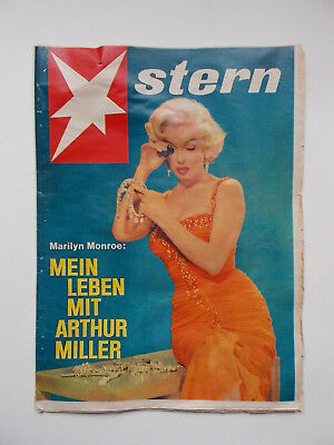 Stern 51/1960 Marilyn Monroe On Cover Vintage Magazine Germany