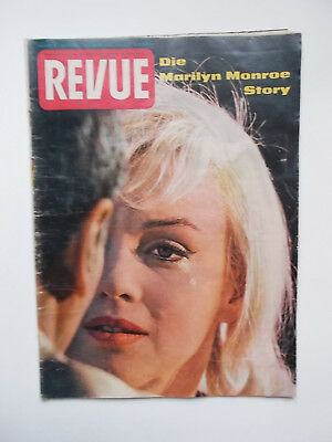 Revue 51/1960 Marilyn Monroe On Cover Original Vintage Magazine Germany