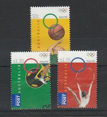 2008 Olympic Games Beijing Used Set.