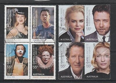 2009 Australian Legends Of The Screen Used Set.